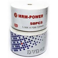 DVD+R 16x4.7 Gb 120 мин Матовый MRM-POWER  в боксе  50 шт